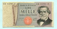 1000 Lire 1973 Italien,  Unc  10.45 US$ 9,50 EUR  +  7.70 US$ shipping