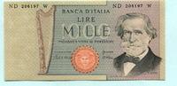 1000 Lire 1981 Italien,  Unc  10.45 US$ 9,50 EUR  +  7.70 US$ shipping