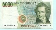 5000 Lire 1985 Italien,  II-III  16.49 US$ 15,00 EUR  +  7.70 US$ shipping