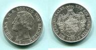 Taler 1858F Sachsen, Johann 1854-1873, vz  175,00 EUR  zzgl. 5,00 EUR Versand