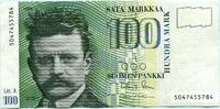 100 Markkaa 1986(91) Finnland,  III+  29,50 EUR  zzgl. 5,00 EUR Versand