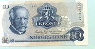 10 Kroner 1975 Norwegen,  Unc  12,00 EUR  zzgl. 5,00 EUR Versand
