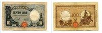 100 Lire, 1930, Italien,  IV,  71.47 US$65,00 EUR60.47 US$ 55,00 EUR  +  7.70 US$ shipping