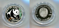 Nord Korea 100 Won, Fauna Asiens-Panda,