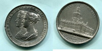 Zn.Medaille 1858 Großbritannien, Eröffnung der Leeds Town Hall, ss  65,00 EUR  zzgl. 5,00 EUR Versand