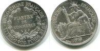 Piaster 1913 Französisch Indochina,  ss  49,50 EUR  zzgl. 5,00 EUR Versand