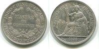 Piaster 1898 Französisch Indochina,  ss/vz  75,00 EUR  zzgl. 5,00 EUR Versand
