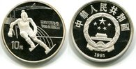 10 Yuan 1991 China, Olympische Spiele 1992, PP  27,50 EUR  zzgl. 5,00 EUR Versand