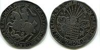 Taler 1662 Mansfeld,eigentliche Hinterurtische Linie, Christian Friedri... 295,00 EUR  plus 7,00 EUR verzending