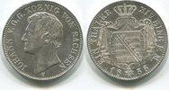 Taler 1856F Sachsen, Johann 1854-1873, vz  195,00 EUR  zzgl. 5,00 EUR Versand