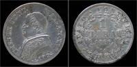 1 lire 1866 Vatican City Italy Vatican City 1 lira 1866R VF  89,00 EUR Gratis verzending