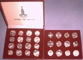 210 RUBEL 1980 RUSSLAND KOMPLETTE OLYMPIAD...