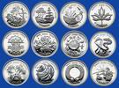 12 x 25 CENTS 2000 KANADA MILLENIUM AUSGABE DER ROYAL CANADIEN MINT PP  110,00 EUR  zzgl. 6,00 EUR Versand