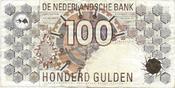 100 gulden 1992 NETHERLANDS Pick: 101 VF