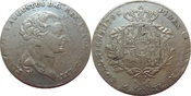 Thaler 1795 POLAND / POLEN Stanislaw Augus...