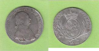 1/2 Konventionstaler 1805 Bayern selten ss...