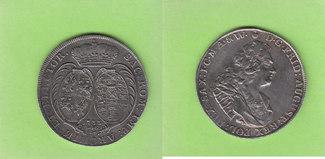 Taler 1733 Sachsen August der Starke, sehr...
