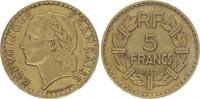 5 Francs 1947 France Lavrillier - 1947 ! Rare !  761.a ss  450,00 EUR envoi gratuit
