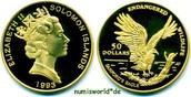 50 Dollars 1993 Salomon Islands Salomon Is...
