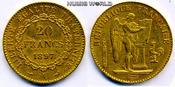 20 Francs 1897 Frankreich Frankreich - 20 ...