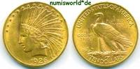 10 Dollars 1926 USA USA - 10 Dollars - 1926 winz. Rf. - vz  721,00 EUR  zzgl. 6,00 EUR Versand