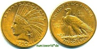 10 Dollars 1910 USA USA - 10 Dollars - 1910 vz-  750,00 EUR  zzgl. 6,00 EUR Versand