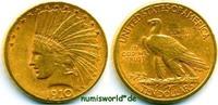 10 Dollars 1910 USA USA - 10 Dollars - 1910 ss  /  vz  735,00 EUR  zzgl. 6,00 EUR Versand
