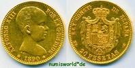 20 Pesetas 1890 Spanien Spanien - 20 Pesetas - 1890 vz  369,00 EUR  zzgl. 6,00 EUR Versand