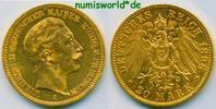 20 Mark 1898  Preussen - 20 Mark - 1898 ss+  /  vz+  303,00 EUR