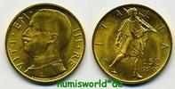 50 Lire 1931 Italien Italien - 50 Lire - 1931 f. Stg  577,00 EUR