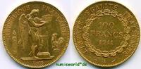100 Francs 1911 Frankreich Frankreich - 100 Francs - 1911 vz  1696,00 EUR