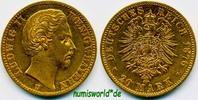 20 Mark 1876  Bayern - 20 Mark - 1876 vz  475,00 EUR