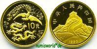 10 Yuan 1990 China China - 10 Yuan - 1990 PP  162,00 EUR  zzgl. 6,00 EUR Versand