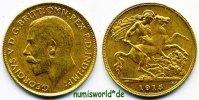 ½ Sovereign 1915 Großbritannien Großbritannien - ½ Sovereign - 1915 ss+... 164,00 EUR