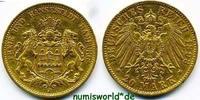 20 Mark 1893  Hamburg - 20 Mark - 1893 ss+  330,00 EUR  zzgl. 6,00 EUR Versand