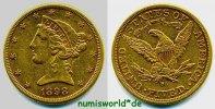 5 Dollars 1898 USA USA - 5 Dollars - 1898 vz-  363,00 EUR