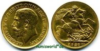 1 Sovereign 1927 Südafrika Südafrika - 1 Sovereign - 1927 vz  326,00 EUR