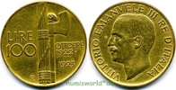 100 Lire 1923 Italien Italien - 100 Lire - 1923 vz  2090,00 EUR kostenloser Versand