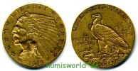 2 ½ Dollars 1913 USA USA - 2 ½ Dollars - 1913 ss+  297,00 EUR