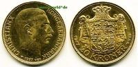 20 Kroner 1917 Dänemark Dänemark - 20 Kroner - 1917 vz  /  vz+  400,00 EUR