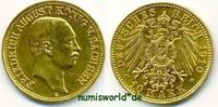 10 Mark 1910  Sachsen - 10 Mark - 1910 etwas berieben-vz  547,00 EUR  zzgl. 6,00 EUR Versand