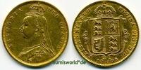 ½ Sovereign 1892 Großbritannien Großbritannien - ½ Sovereign - 1892 ss-... 177,00 EUR