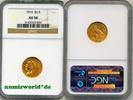 2 1/2 Dollars 1915 USA USA - 2 1/2 Dollars - 1915 NGC AU 58  309,00 EUR  zzgl. 6,00 EUR Versand