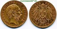 10 Mark 1898  Sachsen - 10 Mark - 1898 ss  /  vz  343,00 EUR  zzgl. 6,00 EUR Versand
