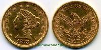 2 ½ Dollars 1878 USA USA - 2 ½ Dollars - 1878 vz  340,00 EUR