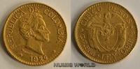 5 Pesos 1924 Kolumbien Kolumbien - 5 Pesos - 1924 vz+  380,00 EUR  zzgl. 6,00 EUR Versand