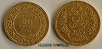 20 Francs 1901 Tunesien Tunesien - 20 Francs - 1901 vz  258,00 EUR  zzgl. 6,00 EUR Versand