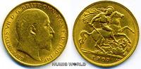 1/2 Sovereign 1907 Großbritannien / GB Großbritannien / GB - 1/2 Sovere... 162,00 EUR  zzgl. 6,00 EUR Versand