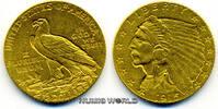 2 1/2 Dollars 1915 USA USA - 2 1/2 Dollars - 1915 vz  290,00 EUR  zzgl. 6,00 EUR Versand