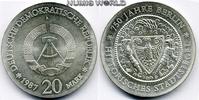 20 Mark 1987  DDR - 20 Mark - 1987 Stg  272,00 EUR  zzgl. 6,00 EUR Versand